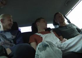 Scott West, Reece Bentley and Josh Jared